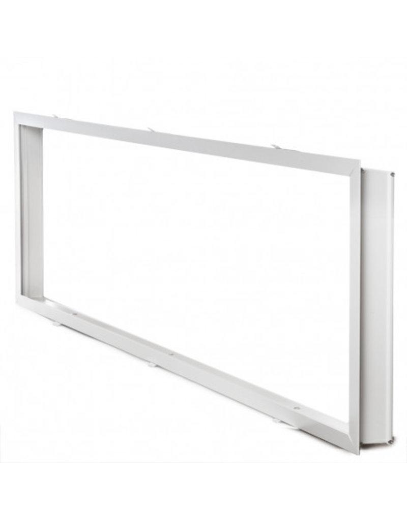 LEDFactory LED Panel Unterputz Rahmen 1200X300mm Weiß