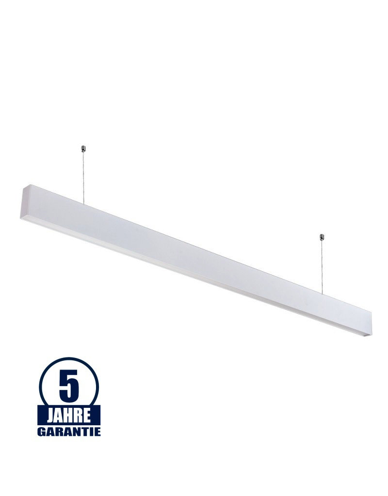 LEDFactory 50W LED Linearleuchte Up and Down Professional mit Abhängung Weiß Neutralweiß