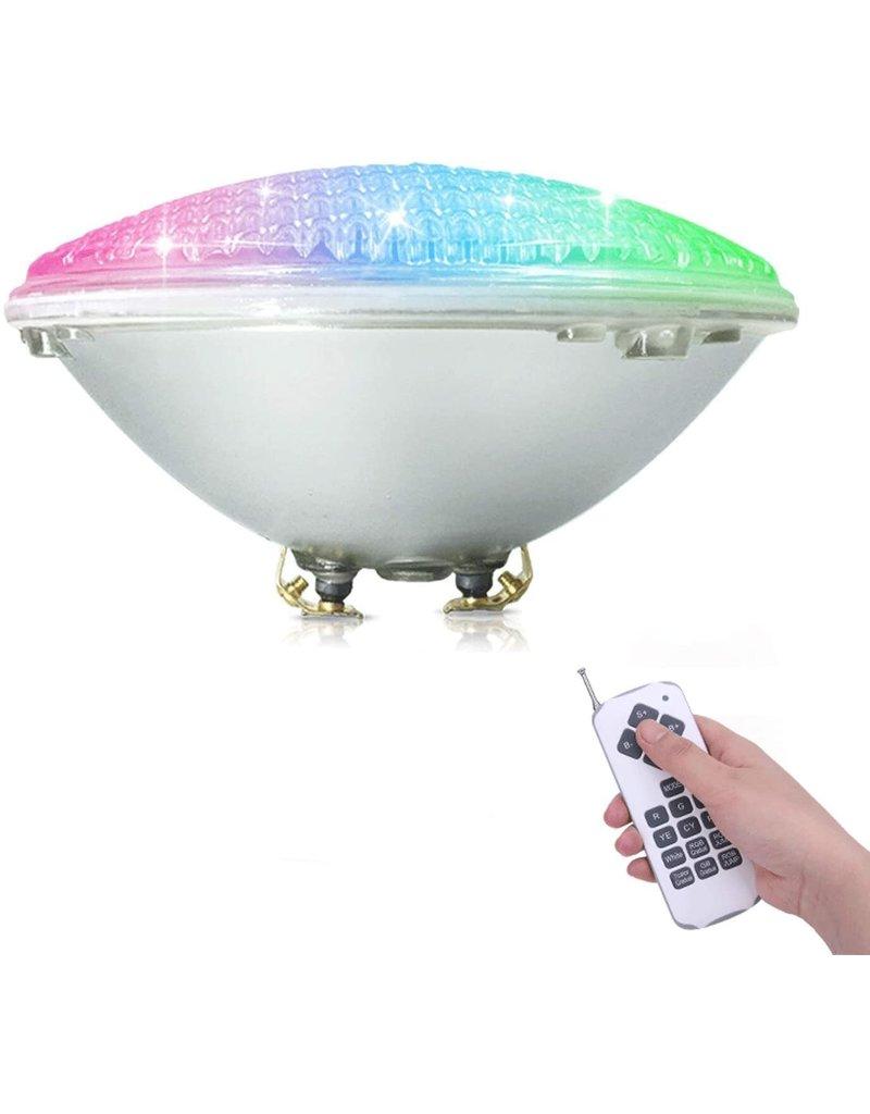 LEDFactory Pool Scheinwerfer Par56 RGBW mit Fernbedienung