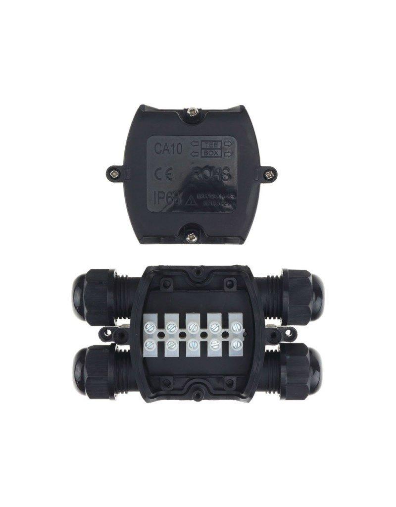 LEDFactory Kabelverbindungsdose mit 4 Kabeleinlässe 1,5-4mm² IP68