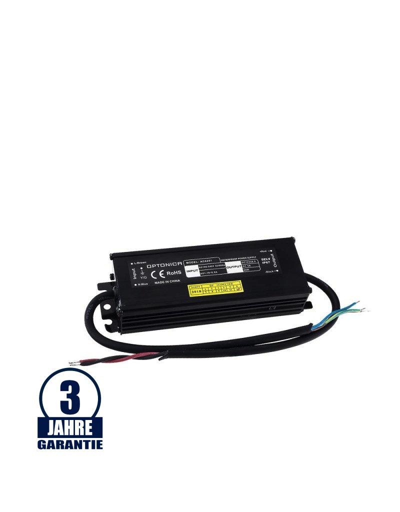 LEDFactory 12V DC Metall Netzteil Professional Wassergeschützt 60W - 200W