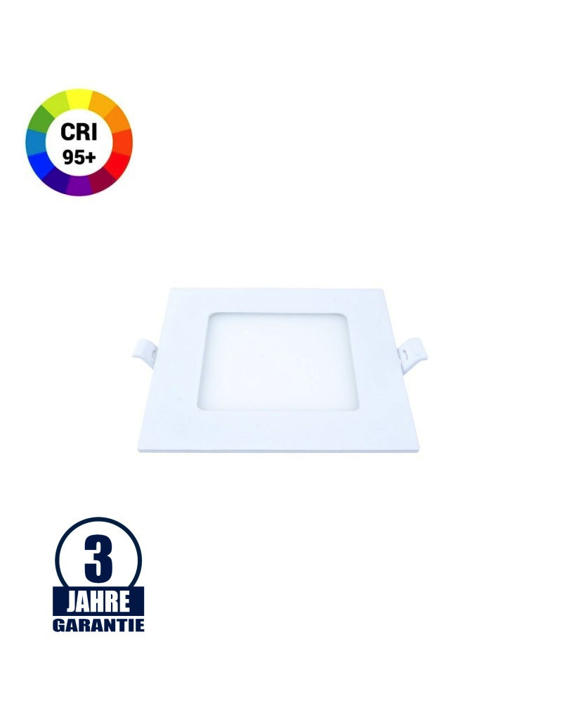 6W LED Professional Mini Panel Quadratisch