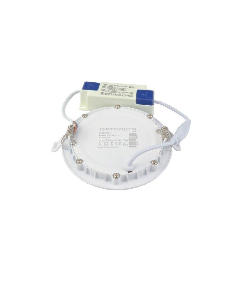 LEDFactory 6W LED Professional Mini Panel Rund