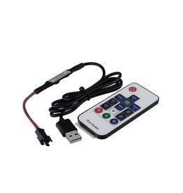 LEDFactory Digital LED Controller mit Fernbedienung 5V