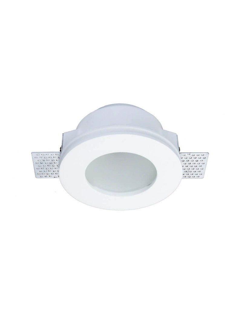 Einbaurahmen Trimless für LED GU10 Rund matt Weiß