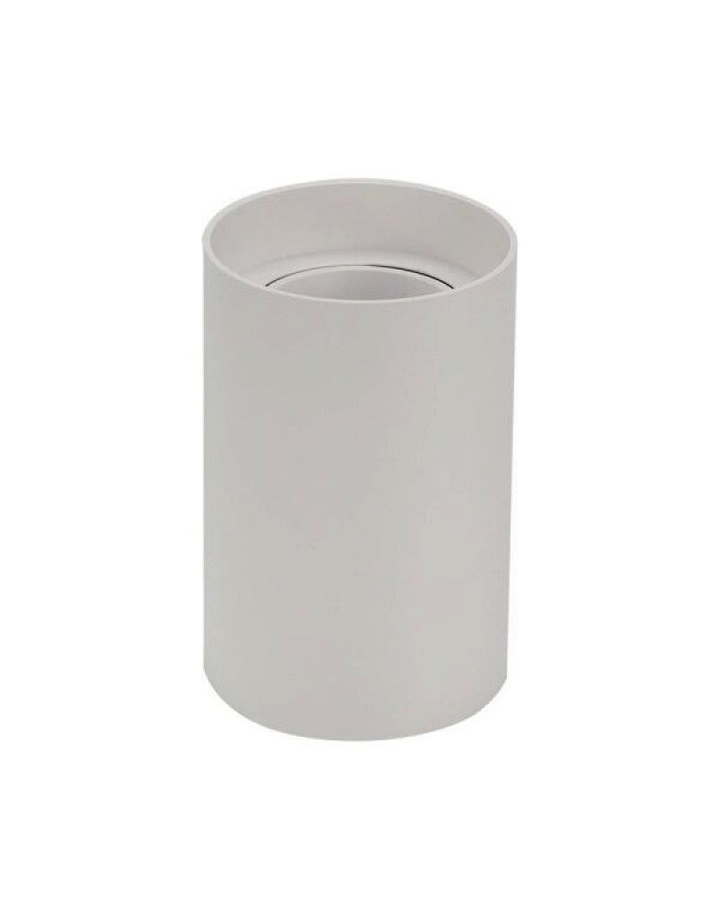 LEDFactory Aufbaurahmen für LED GU10 Kunststoff Rund Weiß
