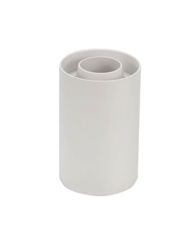 LEDFactory Aufbaurahmen für LED GU10 Kunststoff Rund Weiß V2