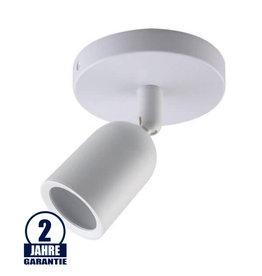 Deckenstrahler GU10 schwenkbar Weiß