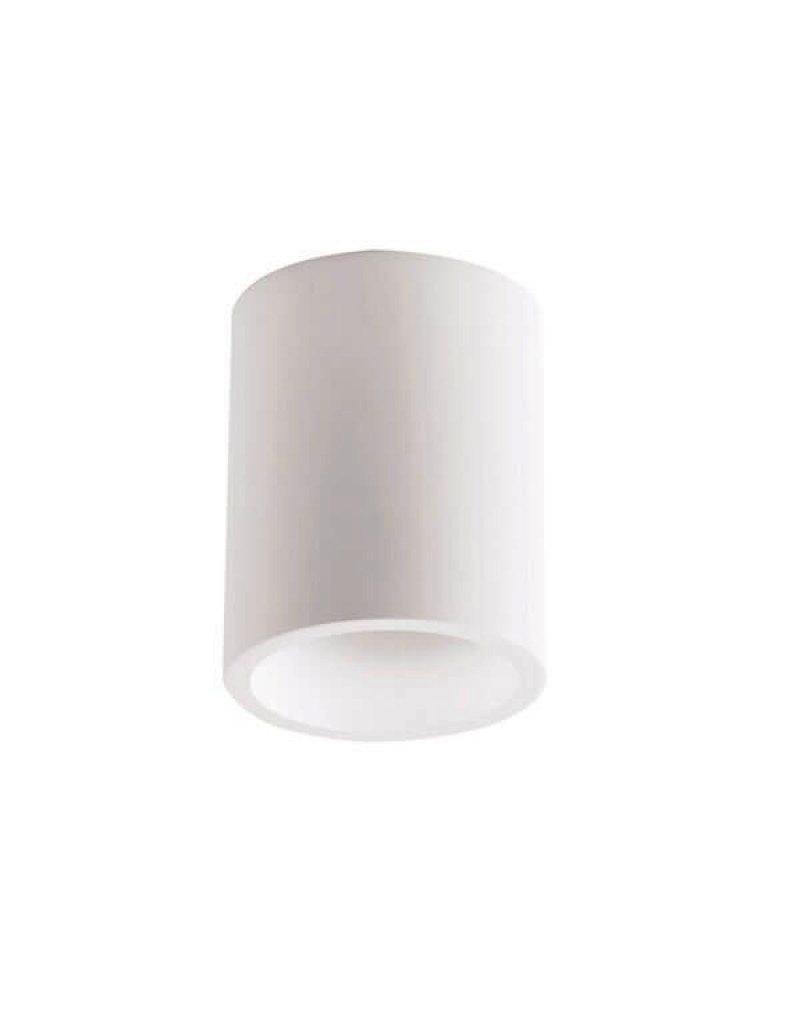 LEDFactory Aufbaurahmen für LED GU10 versenkt Rund Weiß