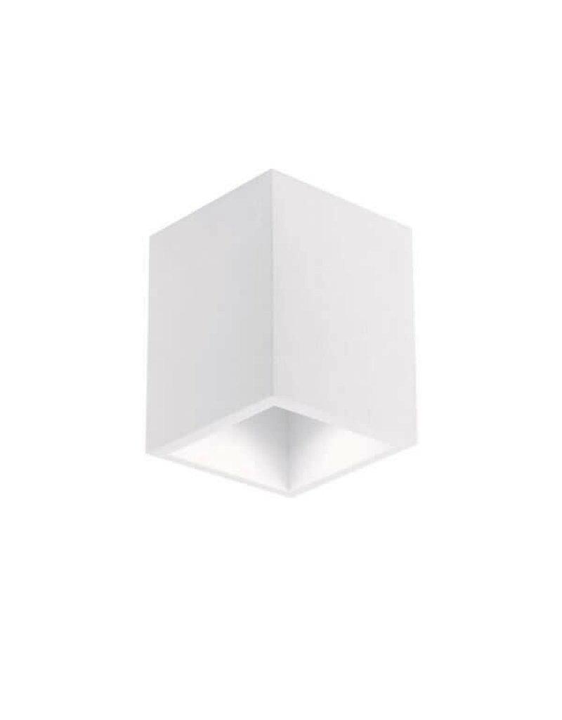 LEDFactory Aufbaurahmen für LED GU10 versenkt Quadratisch Weiß