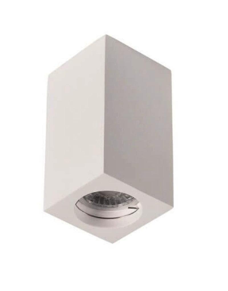 Aufbaurahmen für LED GU10 Quadratisch Weiß 17cm