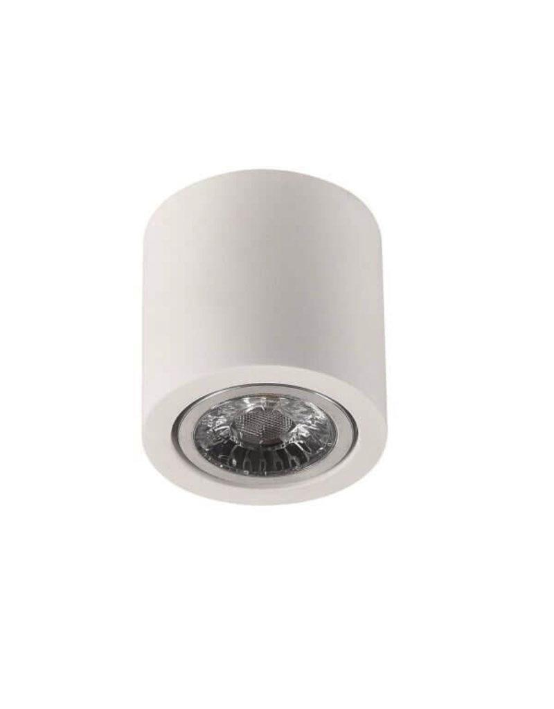 LEDFactory Aufbaurahmen für LED GU10 Rund Weiß 7cm