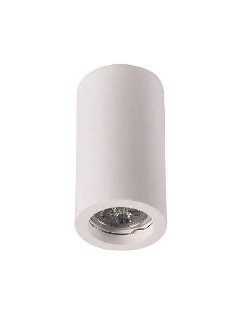 LEDFactory Aufbaurahmen für LED GU10 Rund Weiß 17cm