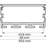 Architektonisches Aluprofil FOBOS-LINE XL