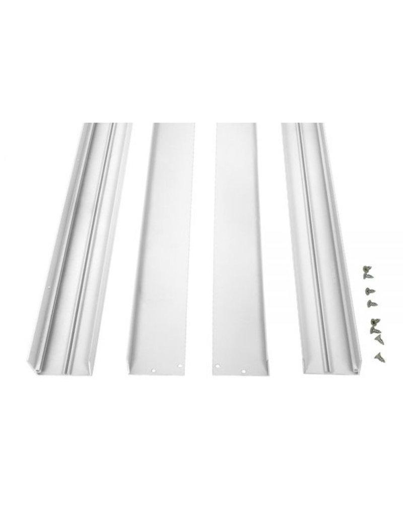 LED Panel Rahmen 300 x1200 mm Weiß