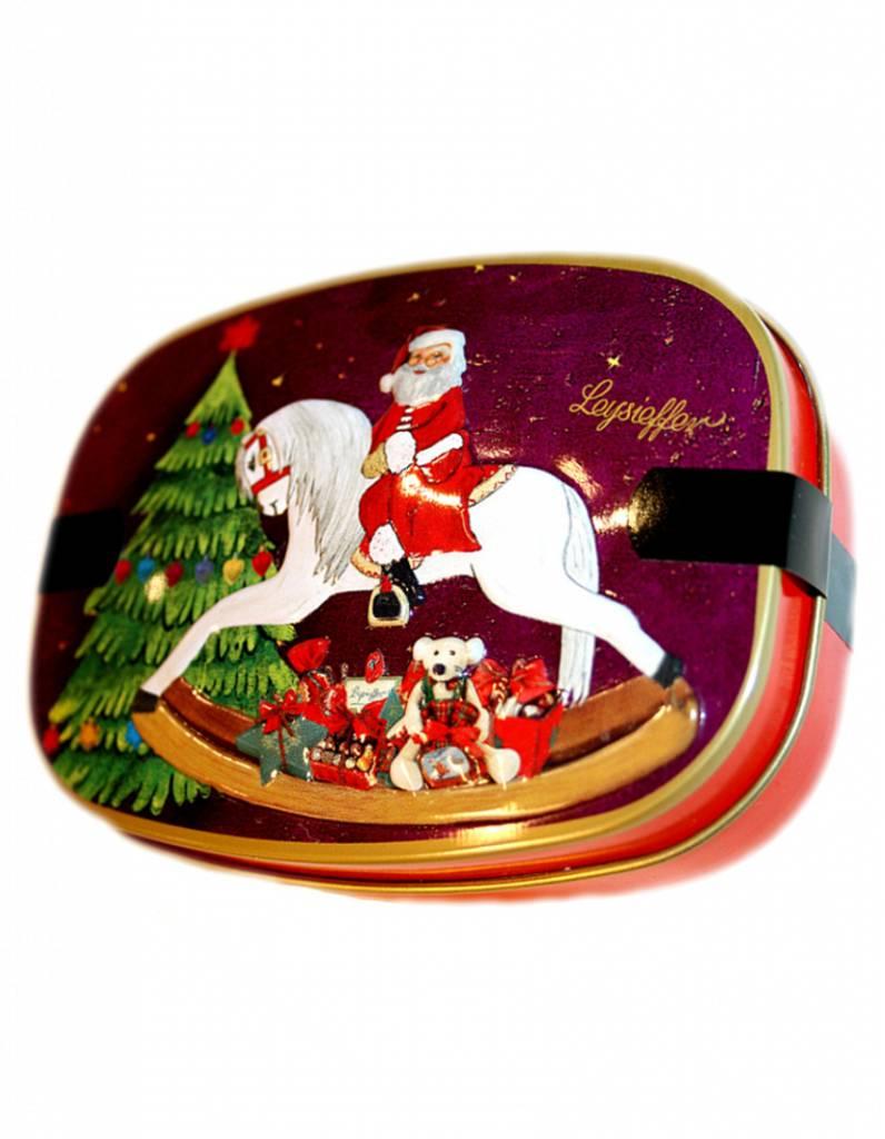 Leysieffer Weihnachts-Schaukelpferddose mit leckeren Schokoladen-Überraschungen
