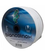 Edelstahl Niro rostfrei Stahldraht 5 mm Weiß PVC Ummantelung 250 meter