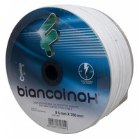Filomat Stainless Wirerope 5 mm white PVC coated 250 meter