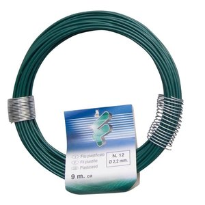 Filomat Iron wire 2.2 mm x 9 meter PVC