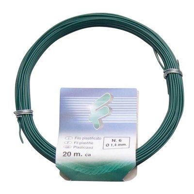 Filomat Iron wire 1.4 mm x 20 meters PVC