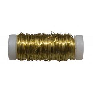 Filomat brass wire 0.4mm 50 gram coiltje