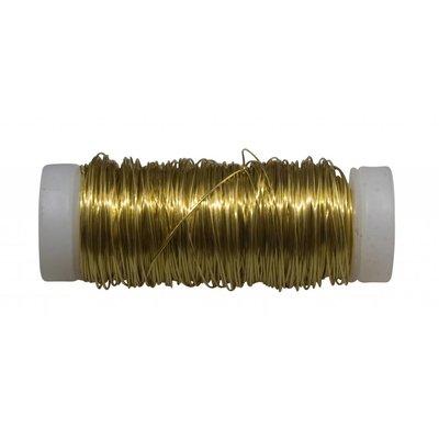 Filomat Messingdraht 100%, weich, formbar, 0.4mm 50 gram Rolles