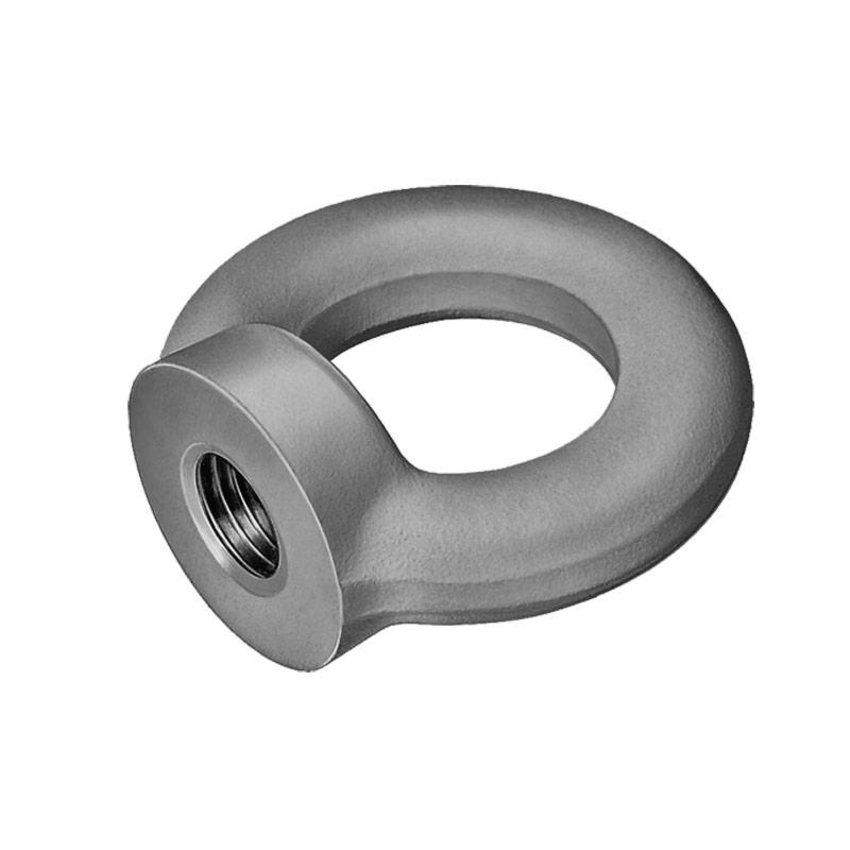 Ringnuts steel M6