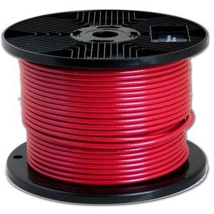 Drahtseile 3/5 mm PVC-ummantelt 100 meter Rot