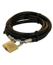 Tuinmeubel kabels 2m zwart + slot