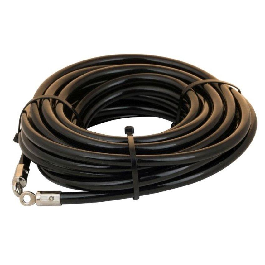 Tuinmeubel kabels 10m zwart