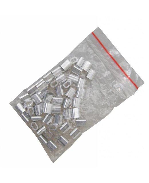 Presshülsen 2,5mm Vorteil Verpackung  50 Stück