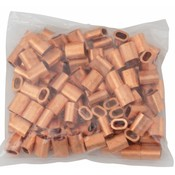 Kupfer Presshülsen 3mm 50 Stück