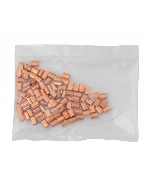 Kupfer Presshülsen 1mm 50 Stück