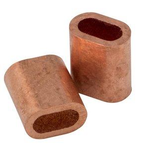 Drahtseilpressklemmen Kupfer 5mm