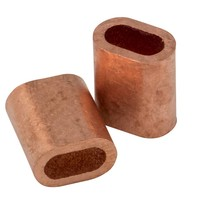 Drahtseilpressklemmen Kupfer 2mm
