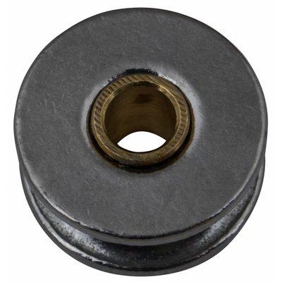 Edelstahl Riemenscheibe mit messing rohr 25mm