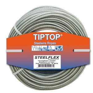 Tiptop Steelwire - Wasline clothesline 50 meter