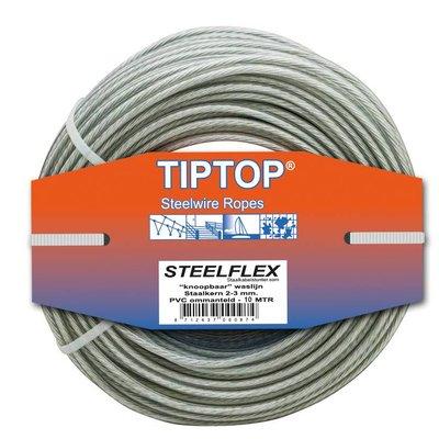 Tiptop Staaldraad - Waslijndraad Drooglijndraad 10 waslijn maken
