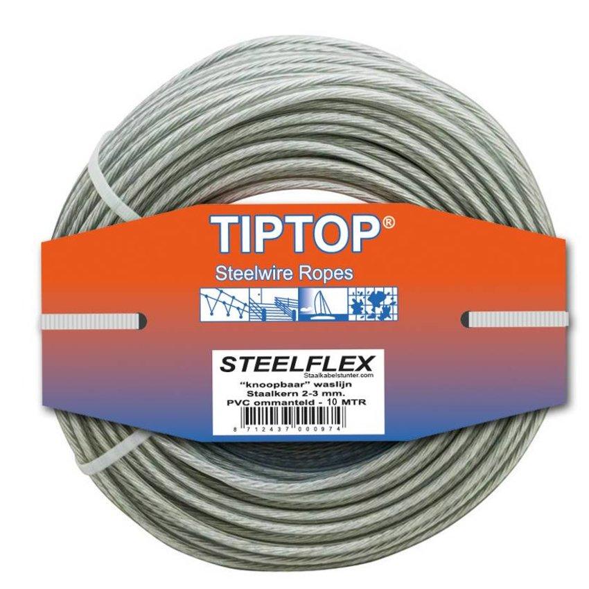Steelwire - Washingline clotheslinedraad 10 wasline making
