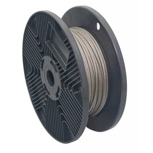 stainless Wire Rope 3 mm huge coil 7x19 - 500 meter