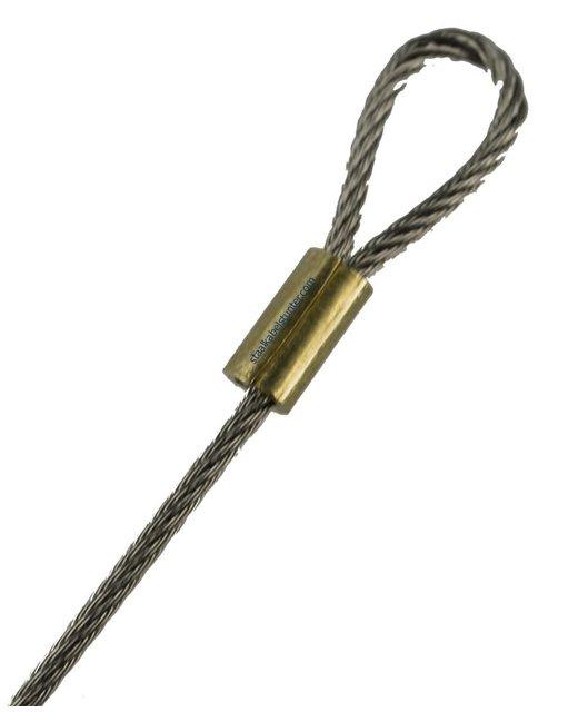 Valves Locking wire Met koperen persklemmen