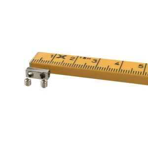 Draadklem 1mm inbus met 2 inbusboutjes