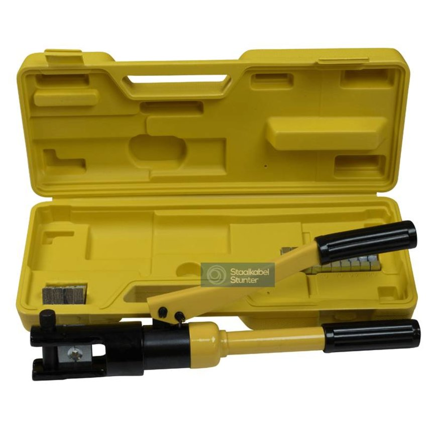 Hydraulic Crimping tool in case
