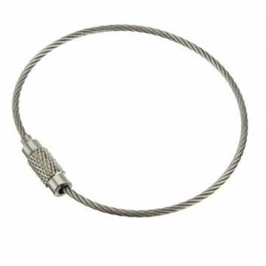 stainless Wire Rope 150 mm 'bracelet'
