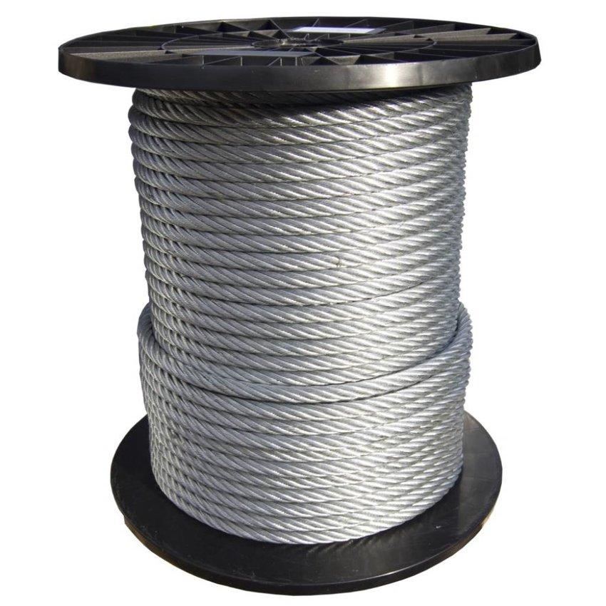 Wire Ropes 10 mm - 50 meter galvanised