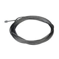 Technx Staalkabel 1.2mm met eindstop