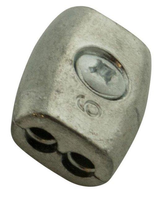 Eivorm draadklemmen 6mm