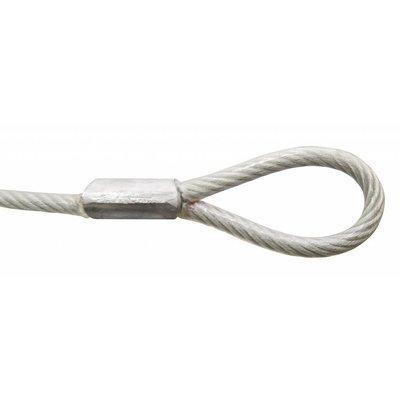 Kabel mit Schleifen 90 cm met Vorhängeschloss