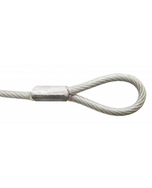 Kabel met lussen 350 cm met hangslot