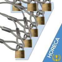 lockcable 3.5m 7x catering Action